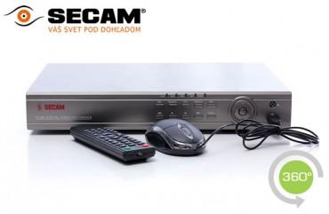 4 kanálový DV rekordér SECAM PRO
