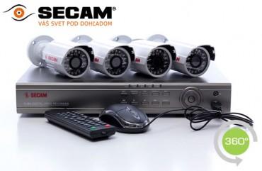 Kamerový set SECAM 4A PRO